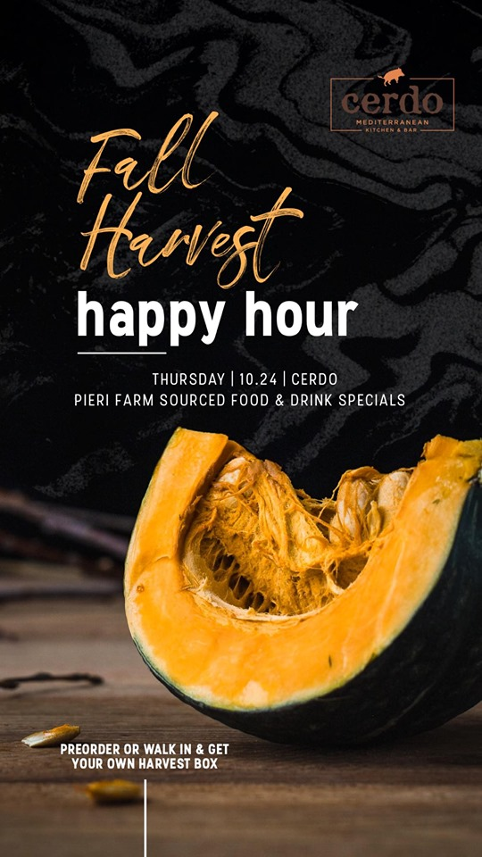 Fall Harvest Happy Hour